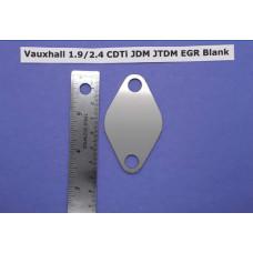 EGR Blank - Vauxhall 1.9/2.4 CDTI