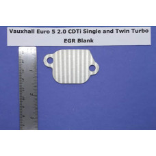 EGR Blank - Vauxhall Euro 5 2.0 single + twin turbo