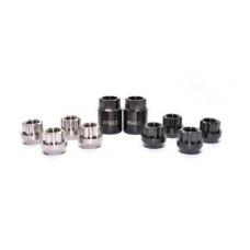 PSDesigns Black-Line Titanium Locking Wheel Nuts M14x1.5mm